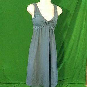 Patagonia M Bandha twist front dress in teal
